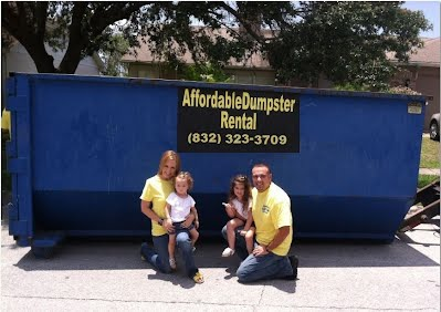 dumpster rental in houston