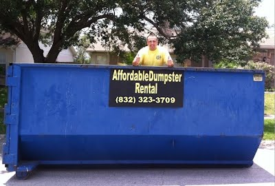 rent a dumpster in houston